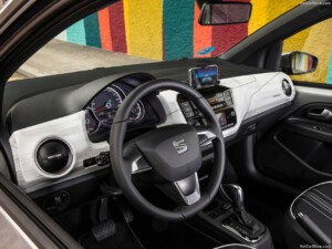 Seat Mii goedkoopste elektrische auto interieur