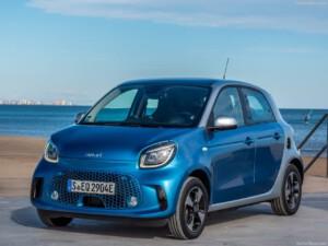 Smart Fourfour elektrische auto voorkant