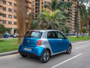 Smart Fourfour elektrische auto achterkant