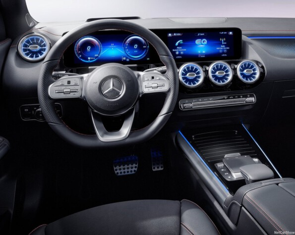 Mercedes EQA Lease interieur