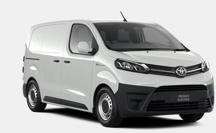 Toyota Proace electric voorkant