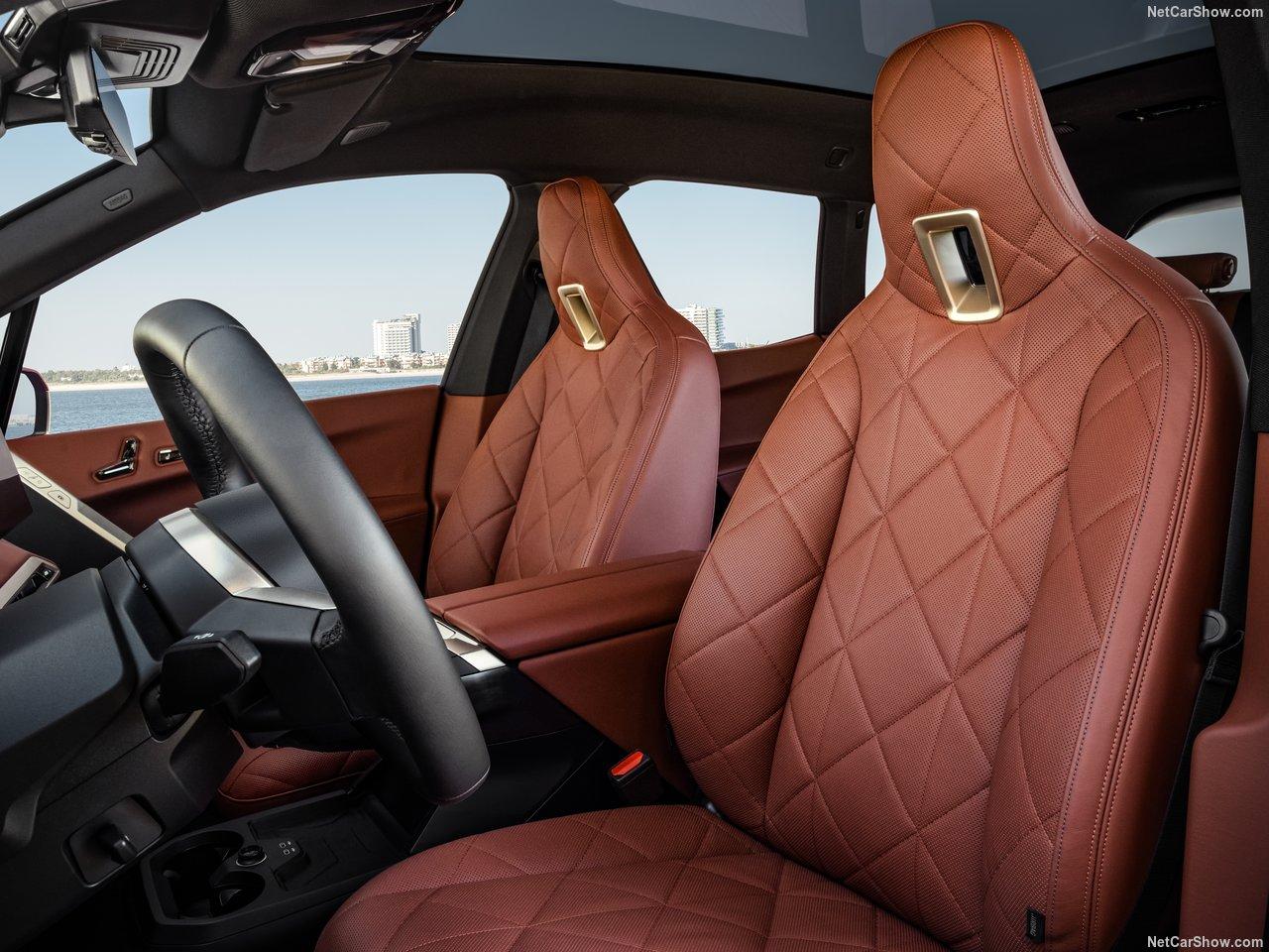 BMW lederen stoelen